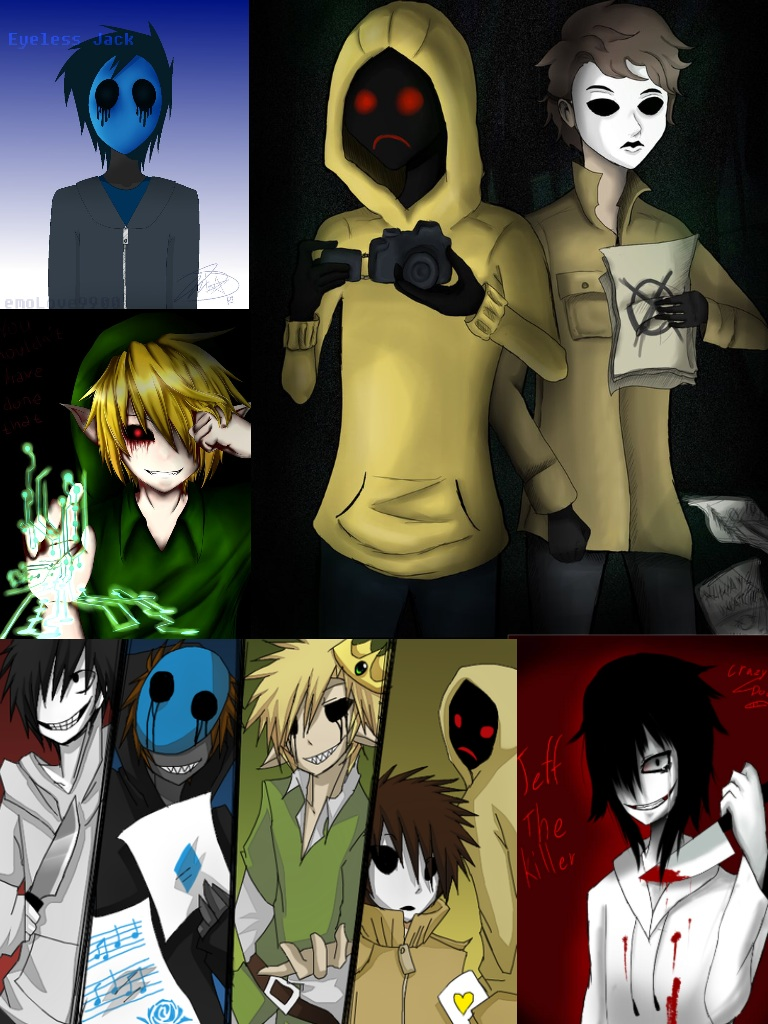 JeffBENeyeless jackMASKY and hoody wallpaper by 768x1024