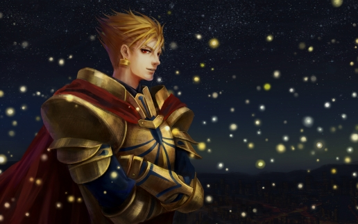 FateZero   Gilgamesh Wallpaper 516x323