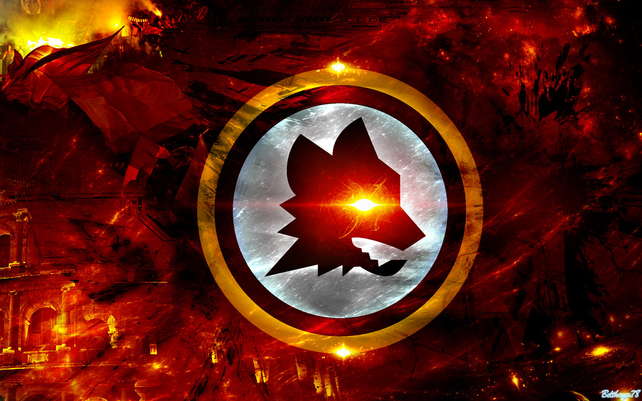 AS Roma Wallpaper 9 by Belthazor78 on deviantART 1280x800