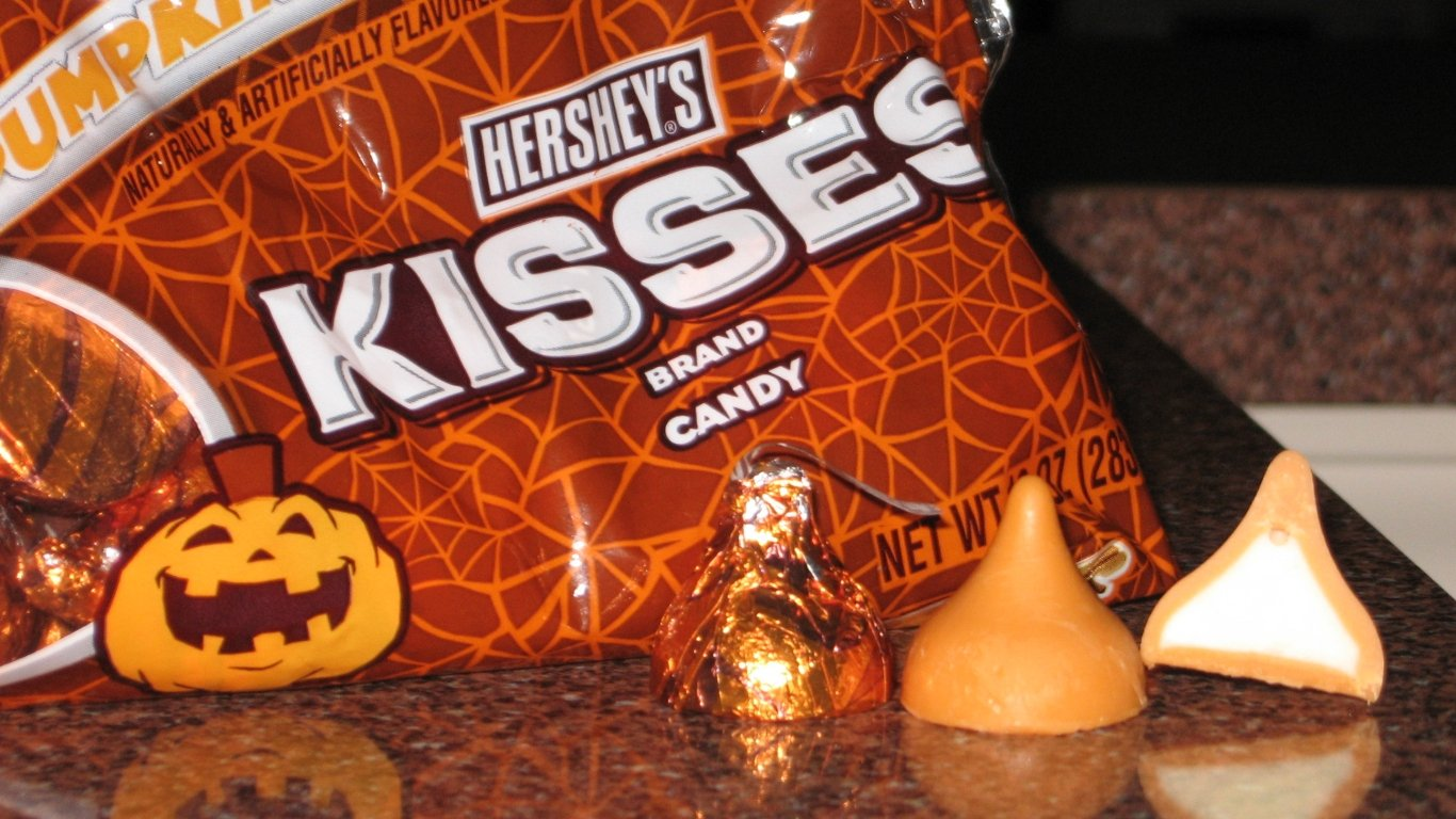 download Hershey Kisses Wallpaper Spice hershey kisses 1366x768