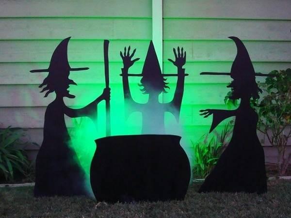 Halloween Witch Wallpaper 600x450