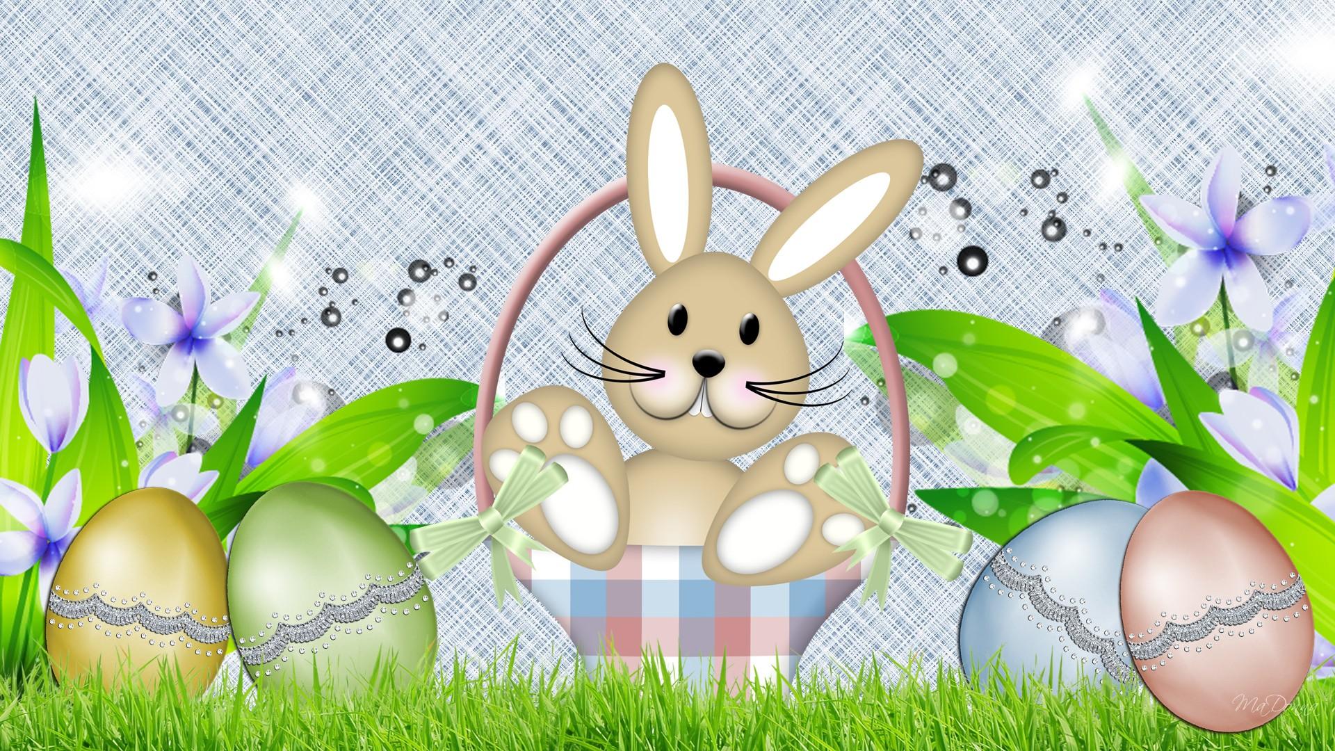 Easter Bunny Wallpaper Backgrounds - WallpaperSafari