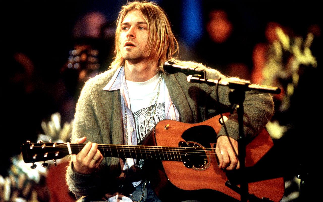Kurt Cobain Mtv Unplugged In New York Hd Wallpaper   Kurt Cobain 1280x800
