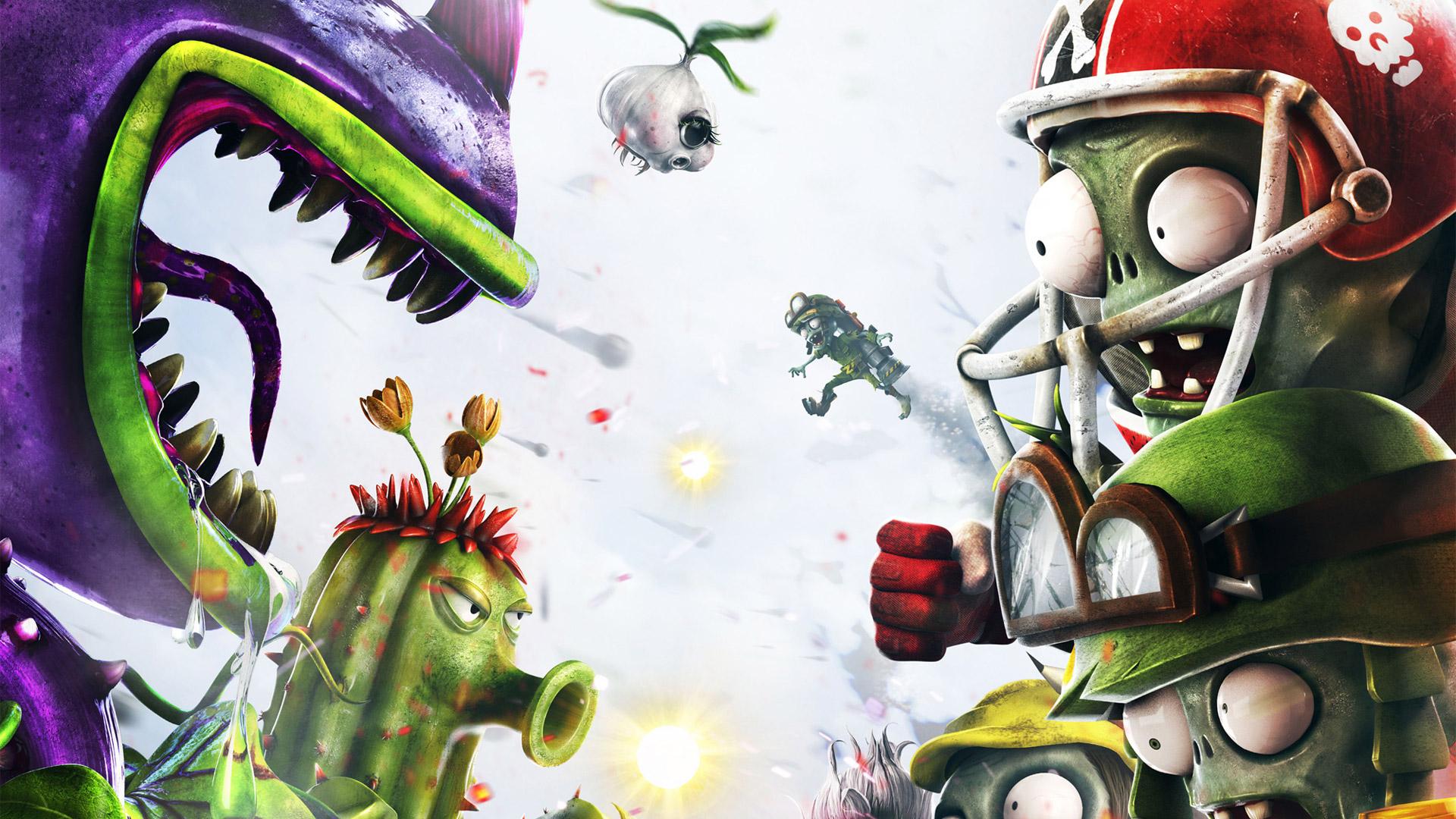 Free Download Plants Vs Zombies Garden Warfare Wallpaper In