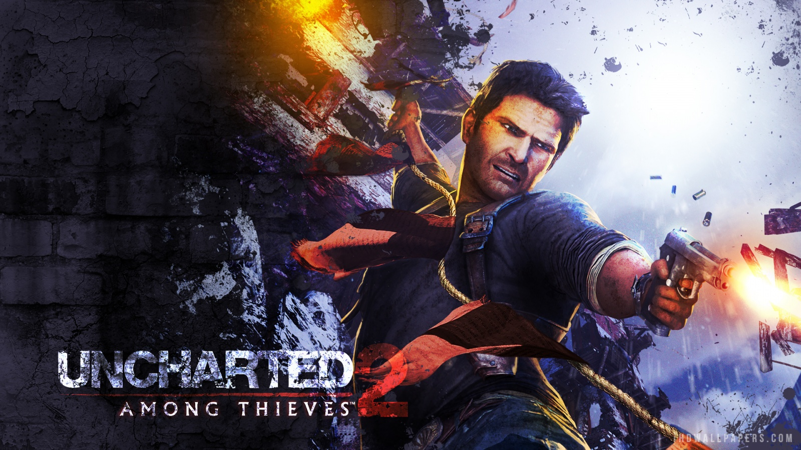Uncharted 2 Among Thieves Wallpaper 1600x900