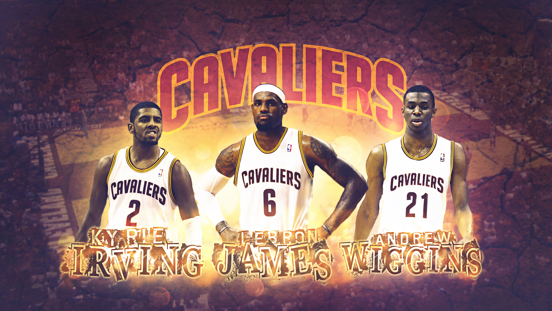 Lebron James, Kyrie Irving, Andrew Wiggins by ricis96 on DeviantArt