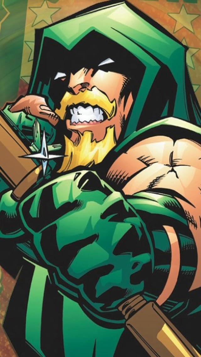 iPhone 55s5c Green Arrow HD Wallpapers Virtually Akshay 640x1136