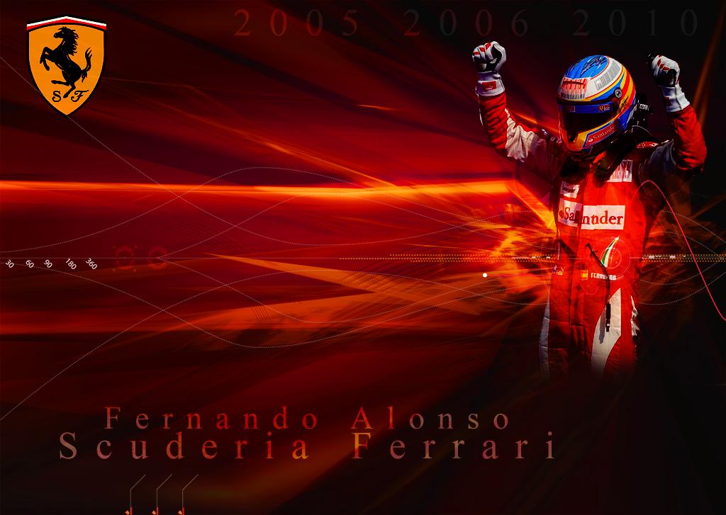 Index of varalbumsF1 PicturesFernando Alonso Wallpaper Gallery 1024x727