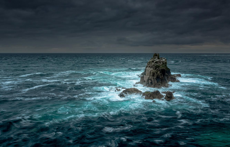 Wallpaper rock storm sea tide images for desktop section 1332x850