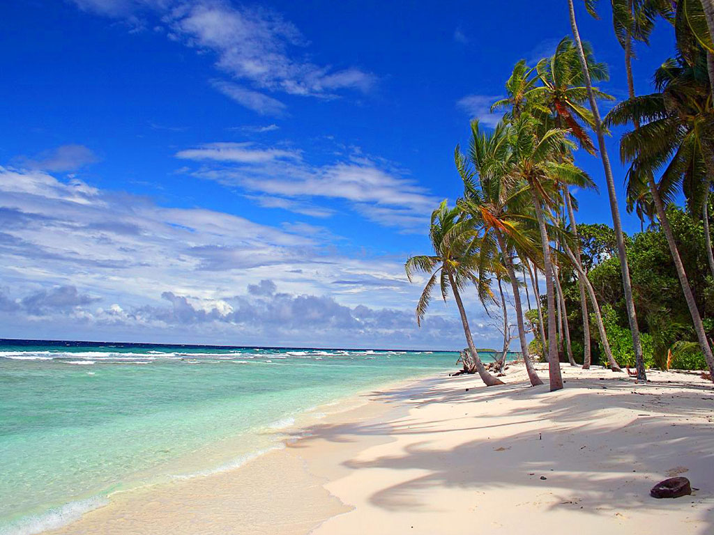Hd Tropical Island Beach Paradise Wallpapers And Backgrounds: Tropical Beach Wallpaper Desktop