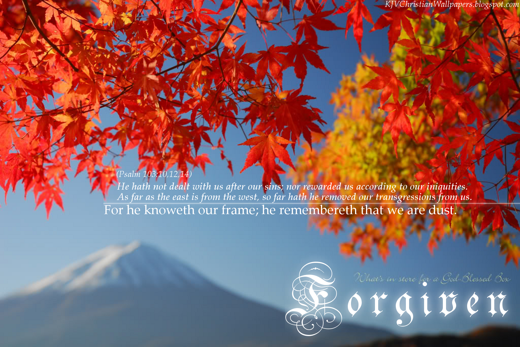 Fall Pictures with Scripture httpkjvchristianwallpapersblogspot 1800x1204
