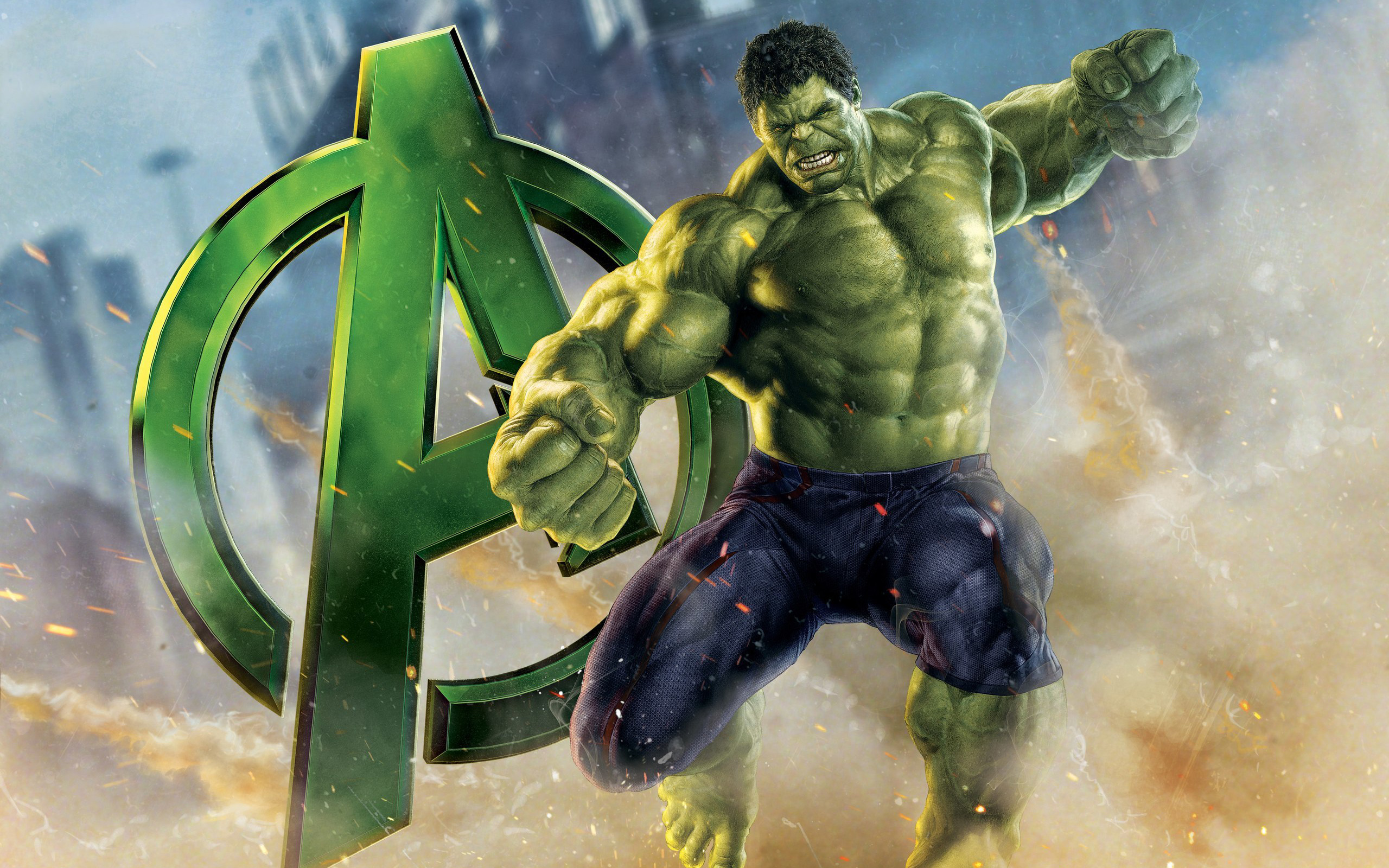 Avengers Hulk Wallpapers HD Wallpapers 2560x1600