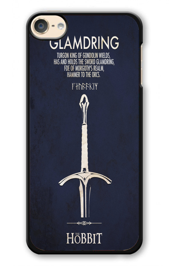 LOTR The Hobbit Glamdring Minimalist Wallpaper iPod 6 Case 580x911