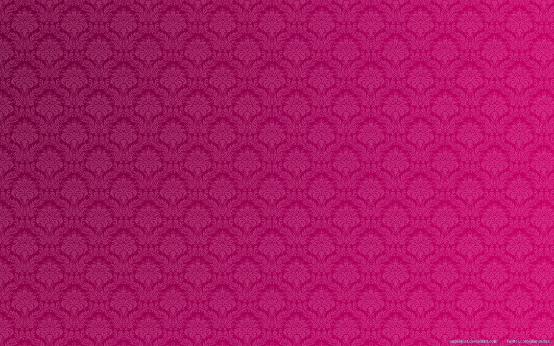 Pink Floral Damask Wallpaper By Angeldust 1131x707