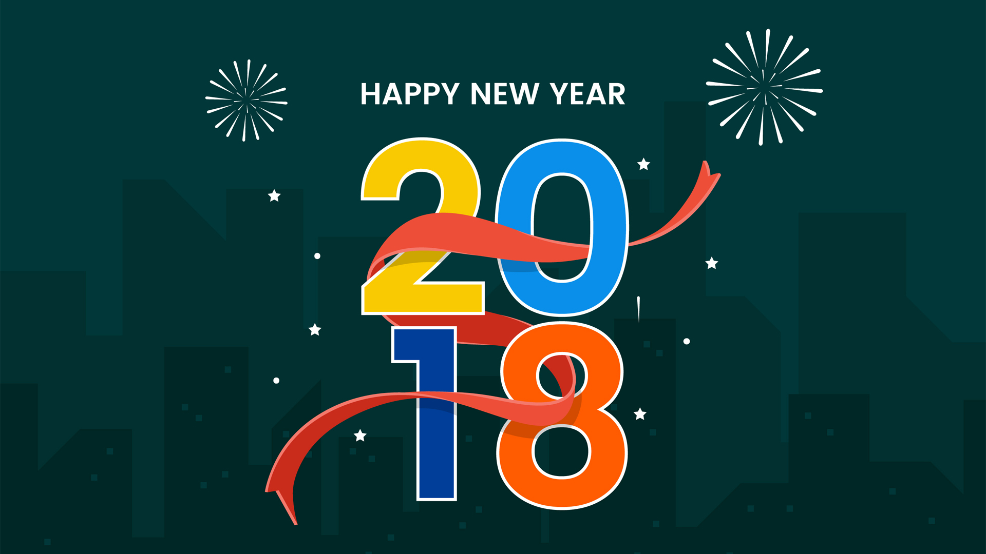 83+] Happy New Year 2018 HD Wallpapers on WallpaperSafari