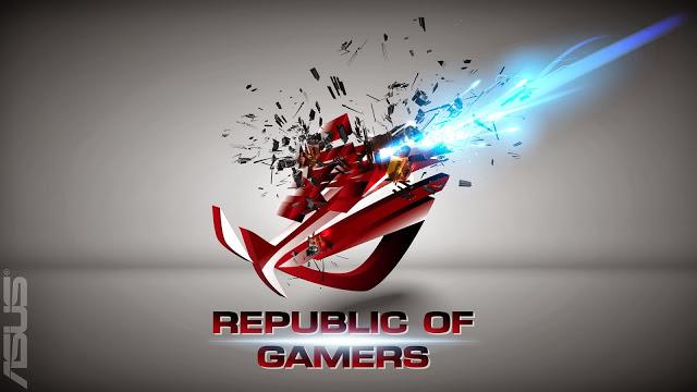 Asus ROG Republic of Gamers Logo i04 HD Wallpaper 640x360