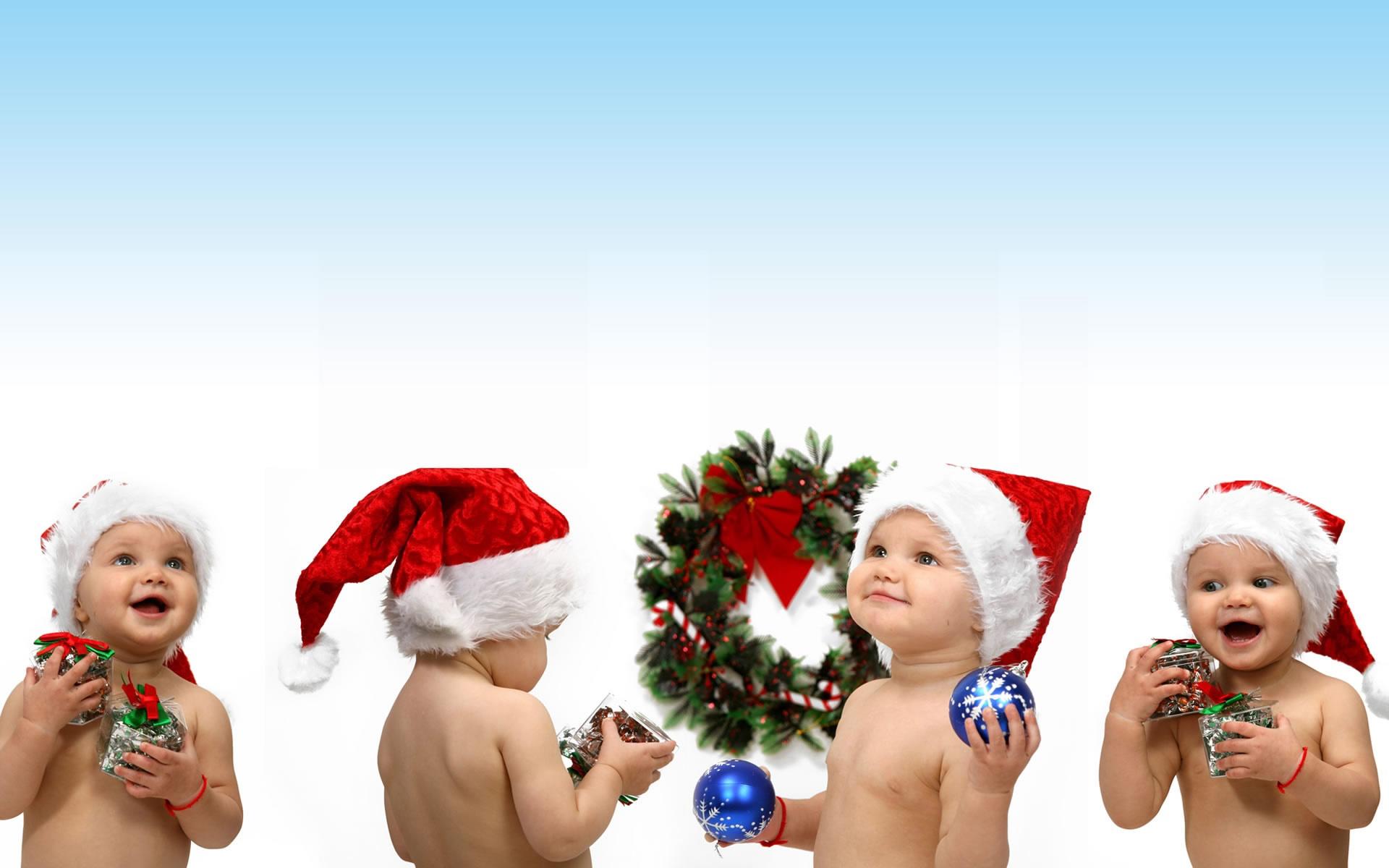 1920x1200 Christmas children desktop PC and Mac wallpaper 1920x1200
