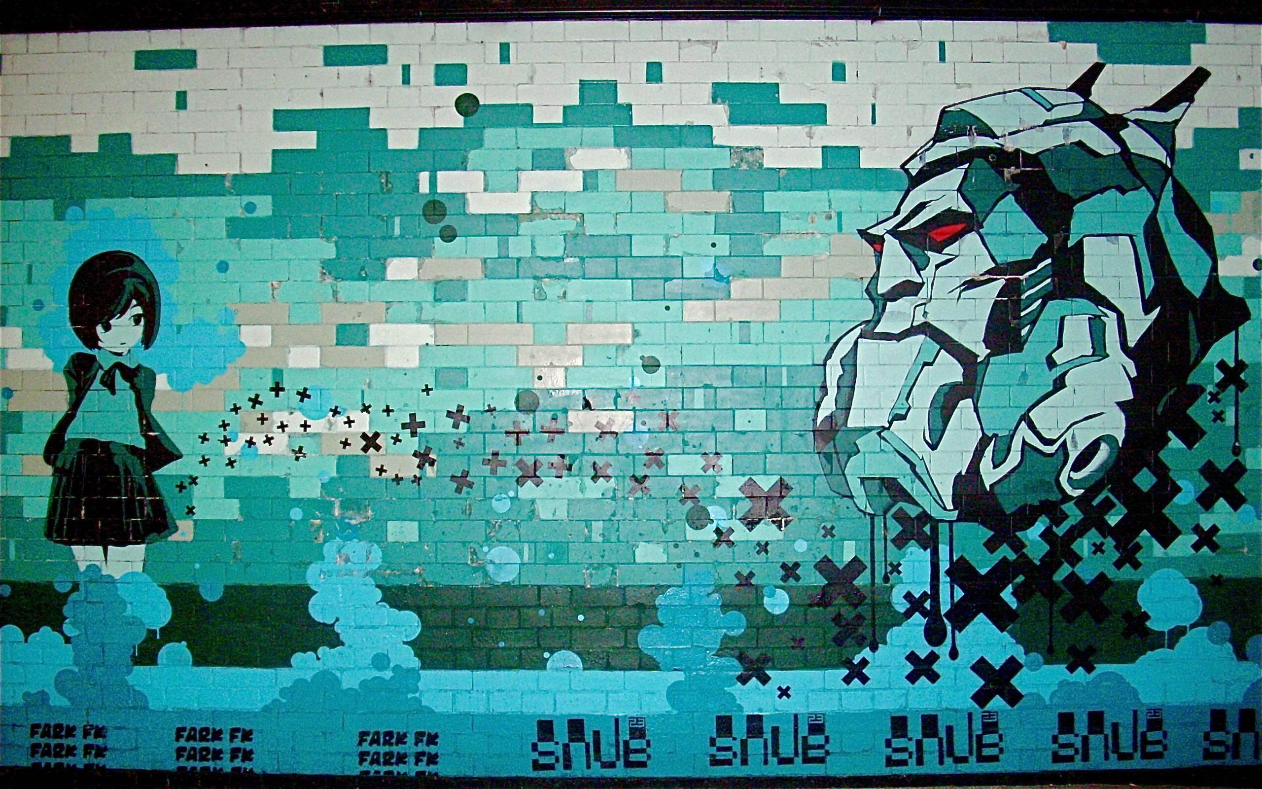 Anime Graffiti Google Skins Anime Graffiti Google Backgrounds Anime 2560x1600
