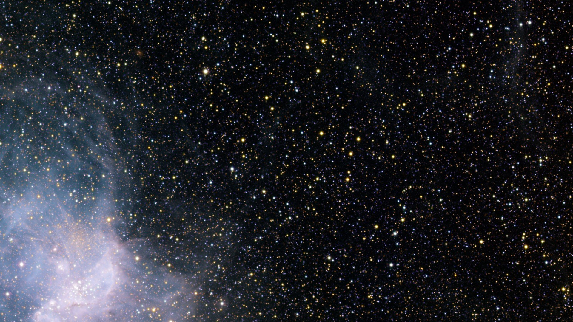 outer space stars HD Wallpaper