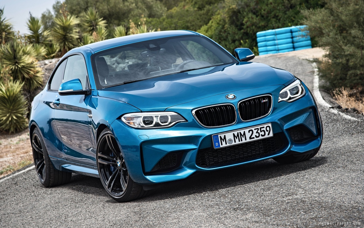 2016 BMW M2 Coupe HD Wallpaper   iHD Wallpapers 1280x800