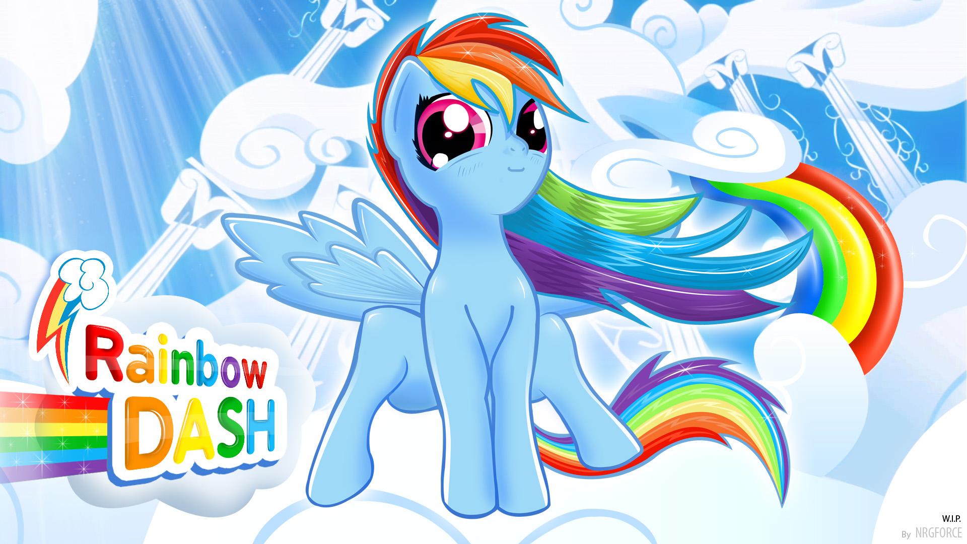 [47+] Cute Rainbow Dash Wallpaper on WallpaperSafari