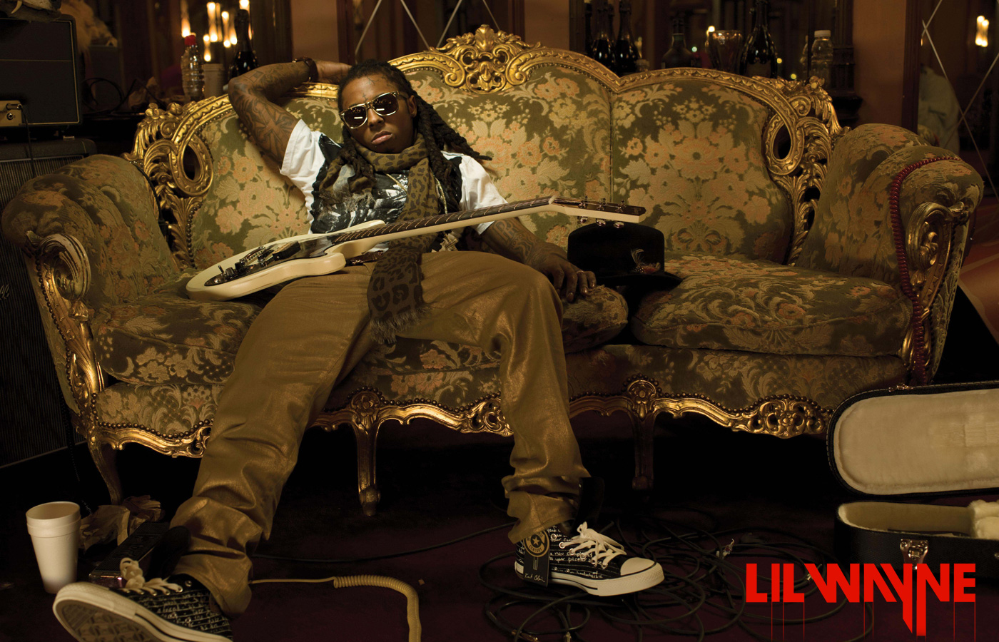 Lil Wayne Guitar Rap Wallpapers 1400x900