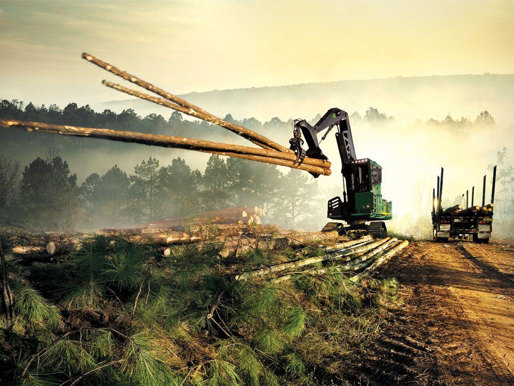 Top 10 John Deere Desktop Wallpapers of 2012 Forestry 1024x768