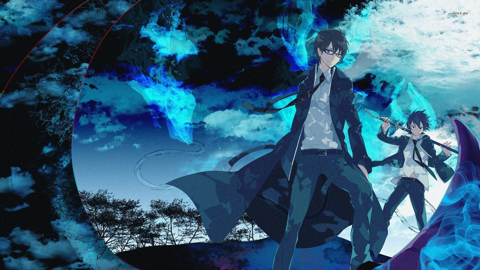 Blue Anime Wallpapers   HD Wallpapers Backgrounds of Your 1920x1080
