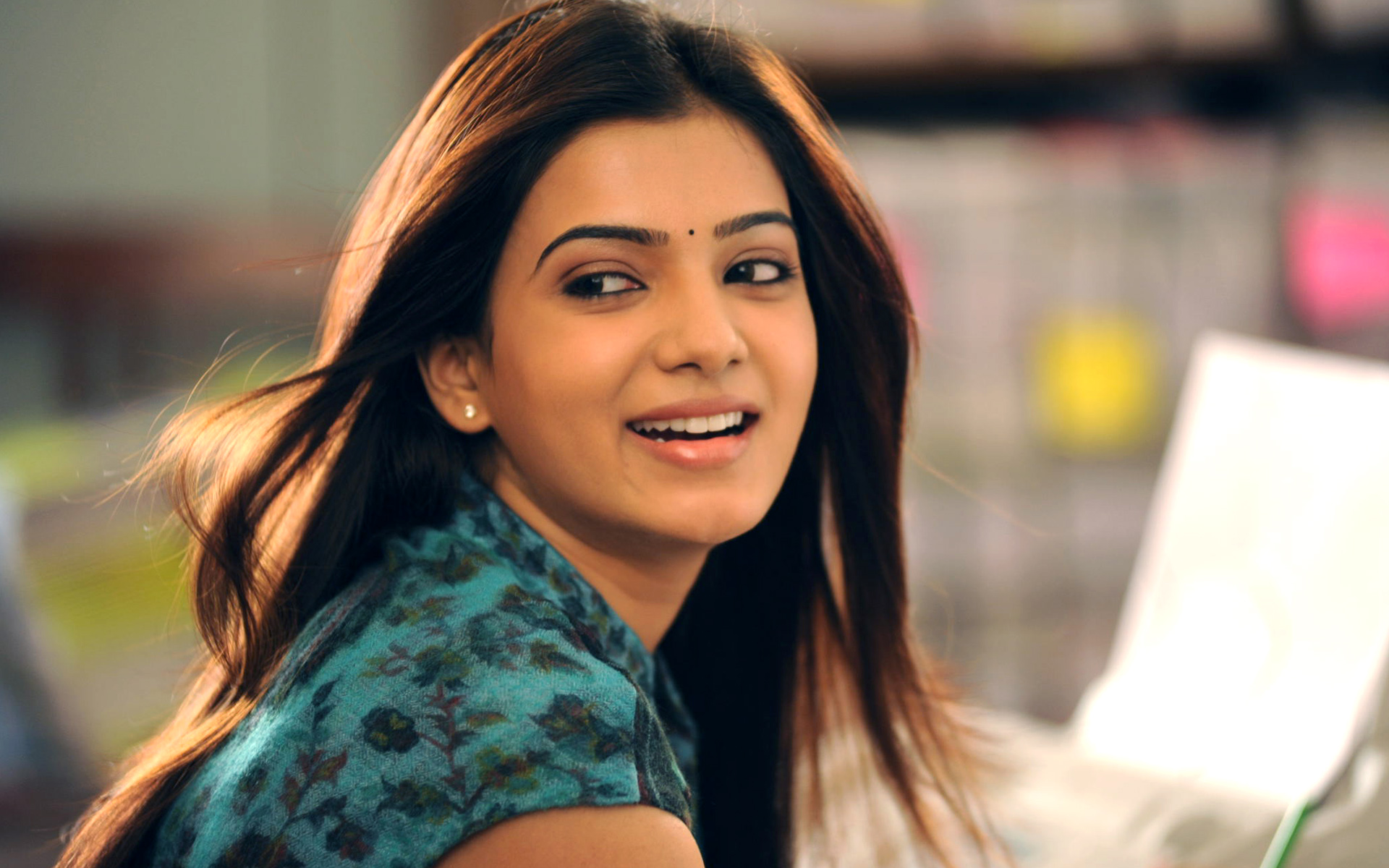 Samantha in Eega Movie Wallpapers HD Wallpapers 1920x1200