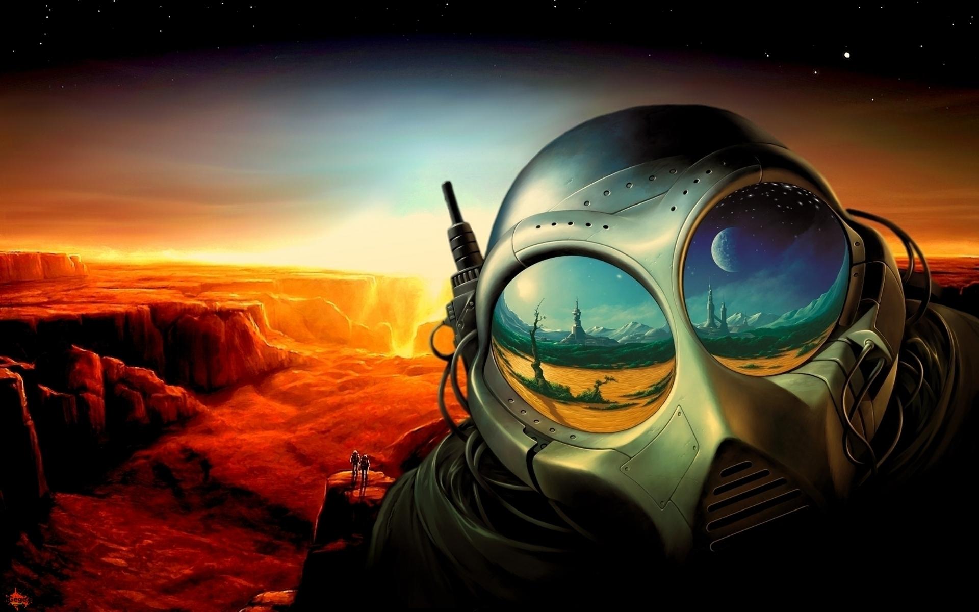 Alien world desktop wallpaper wallpapersafari - Alien desktop ...