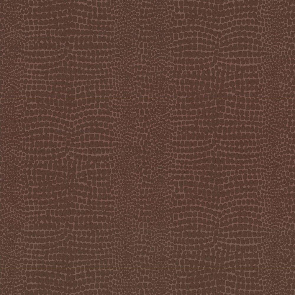 Buy Graham and Brown Crocodile Wallpaper Chocolate Brown 1000x1000