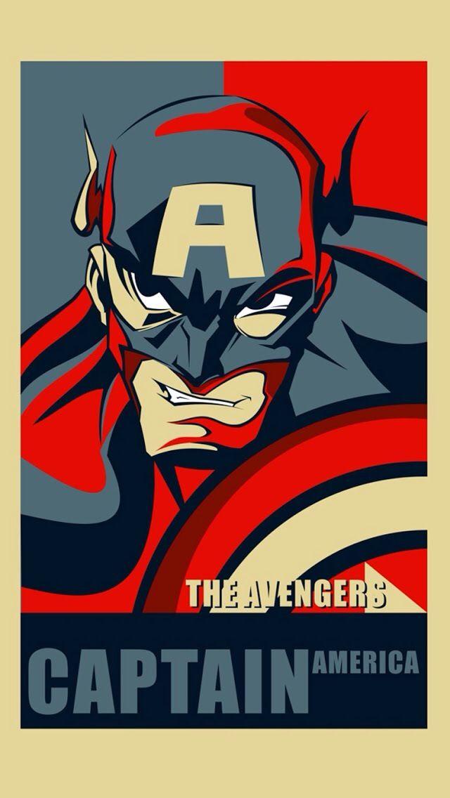 Captain America 640x1136