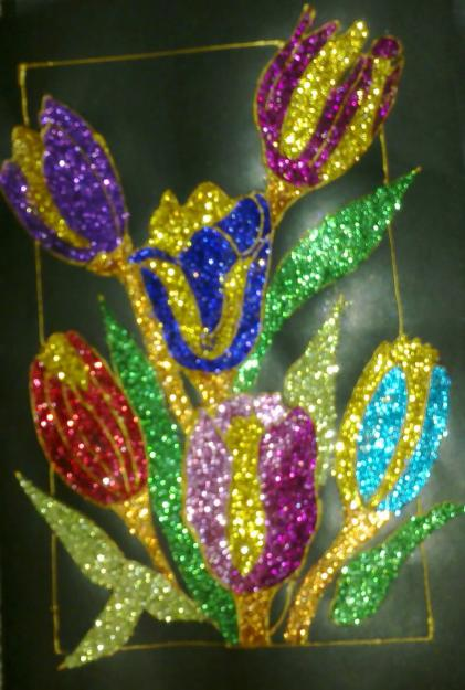 1296905411 164170375 1 Pictures of  glitter paintings for salejpg 421x625