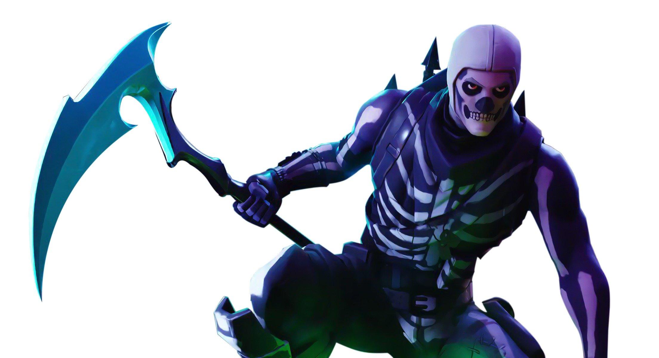 Skull Trooper Skin Fortnite Battle Royale   Art by Ezyin 4376 2208x1200