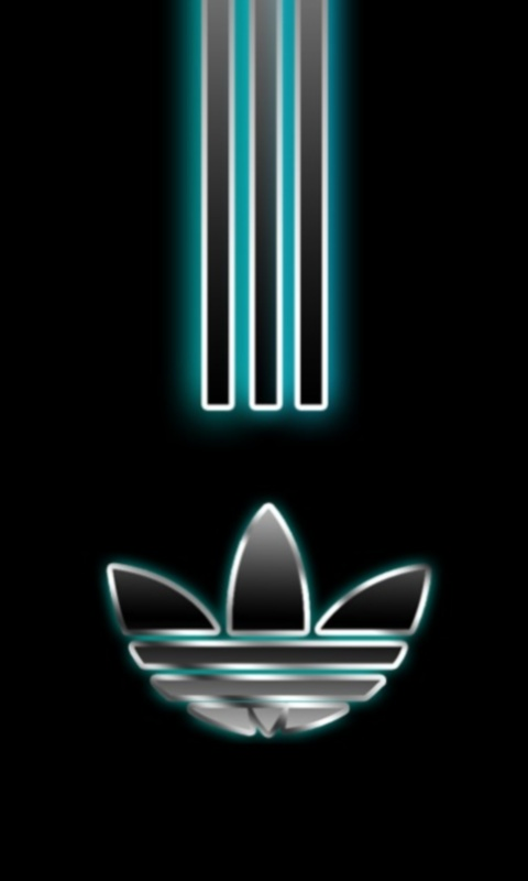 Fuentes de Informacin   logos de adidas y wallpaper 480x800