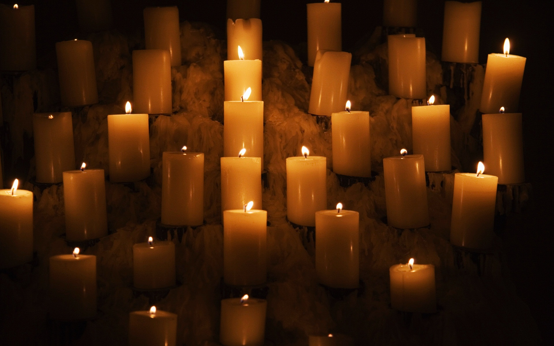 Candle Lights Wallpapers HD Wallpapers 1920x1200