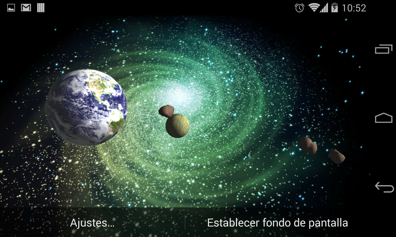 3D Galaxy Live Wallpaper Full   Android Apps on Google Play 1280x768