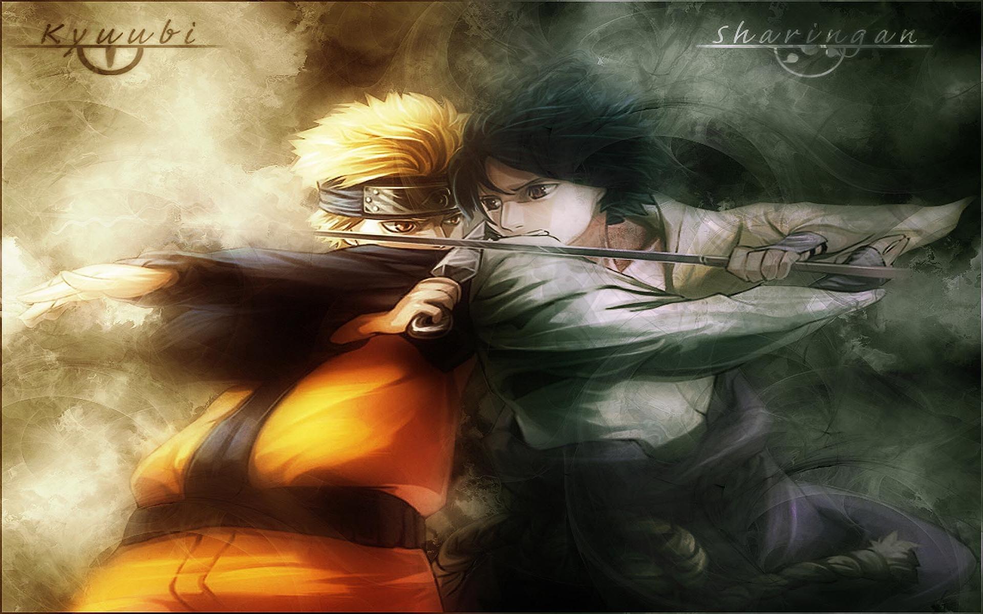 Naruto Vs Sasuke Fight Hd Wallpaper   Wallpaper List