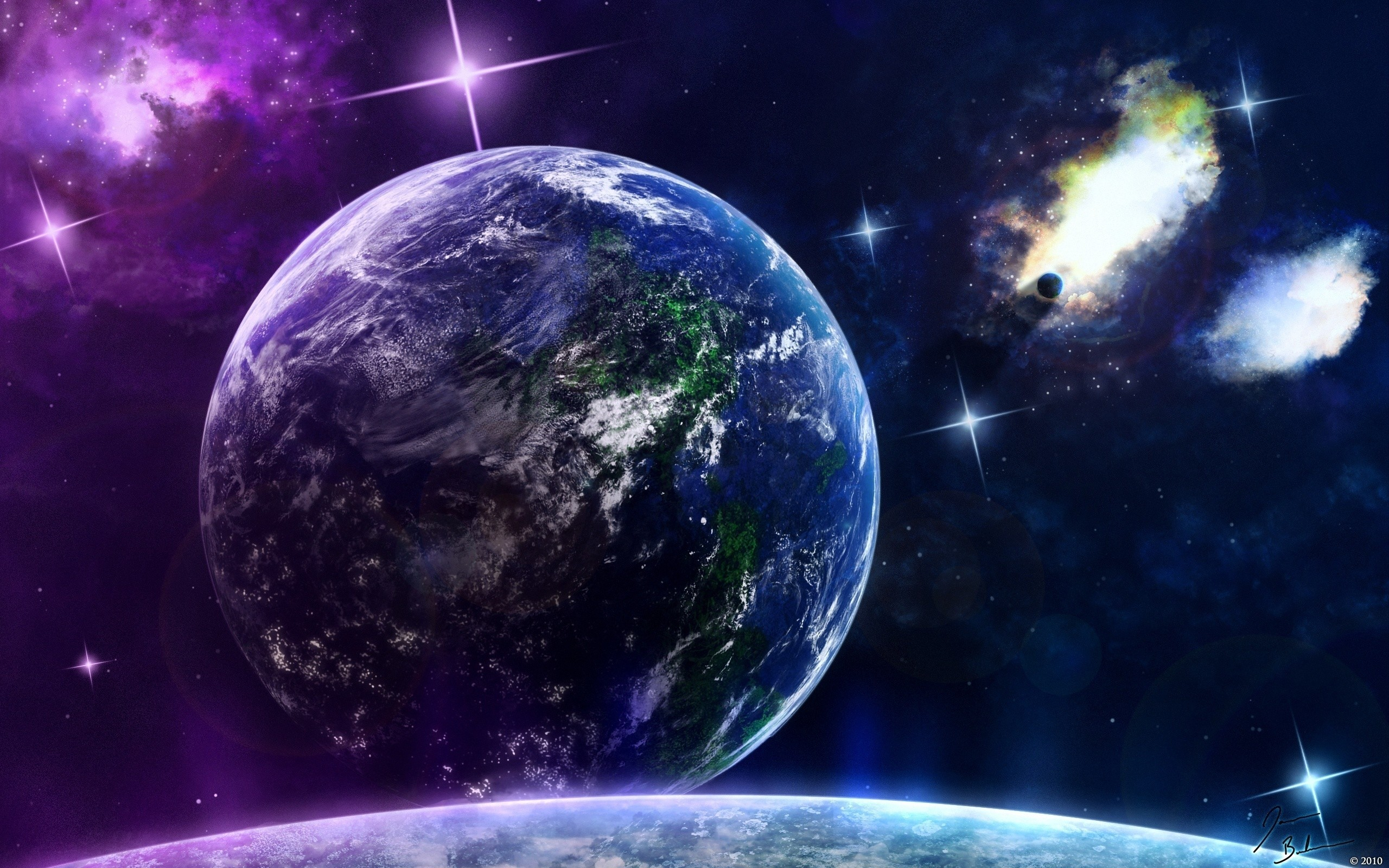 72 Cool Earth Backgrounds On Wallpapersafari