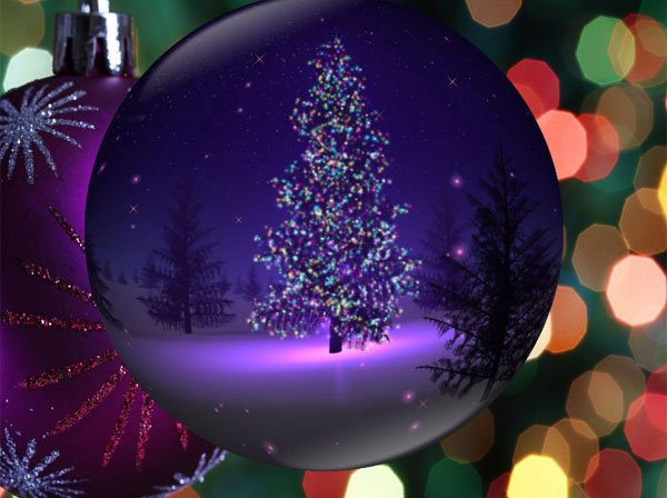 User reviews of Christmas Globe Animated Wallpaper 100 600x448