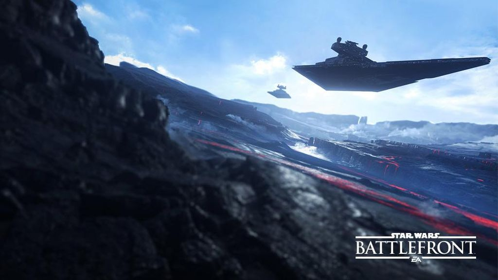 Star Wars Battlefront Images Shows Two Star Destroyers over Sullust 1024x577