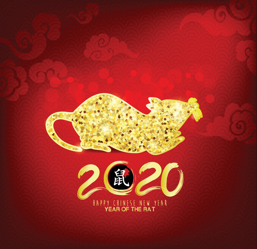 Happy Chinese New Year wallpapers 2020   SPC 1000x971