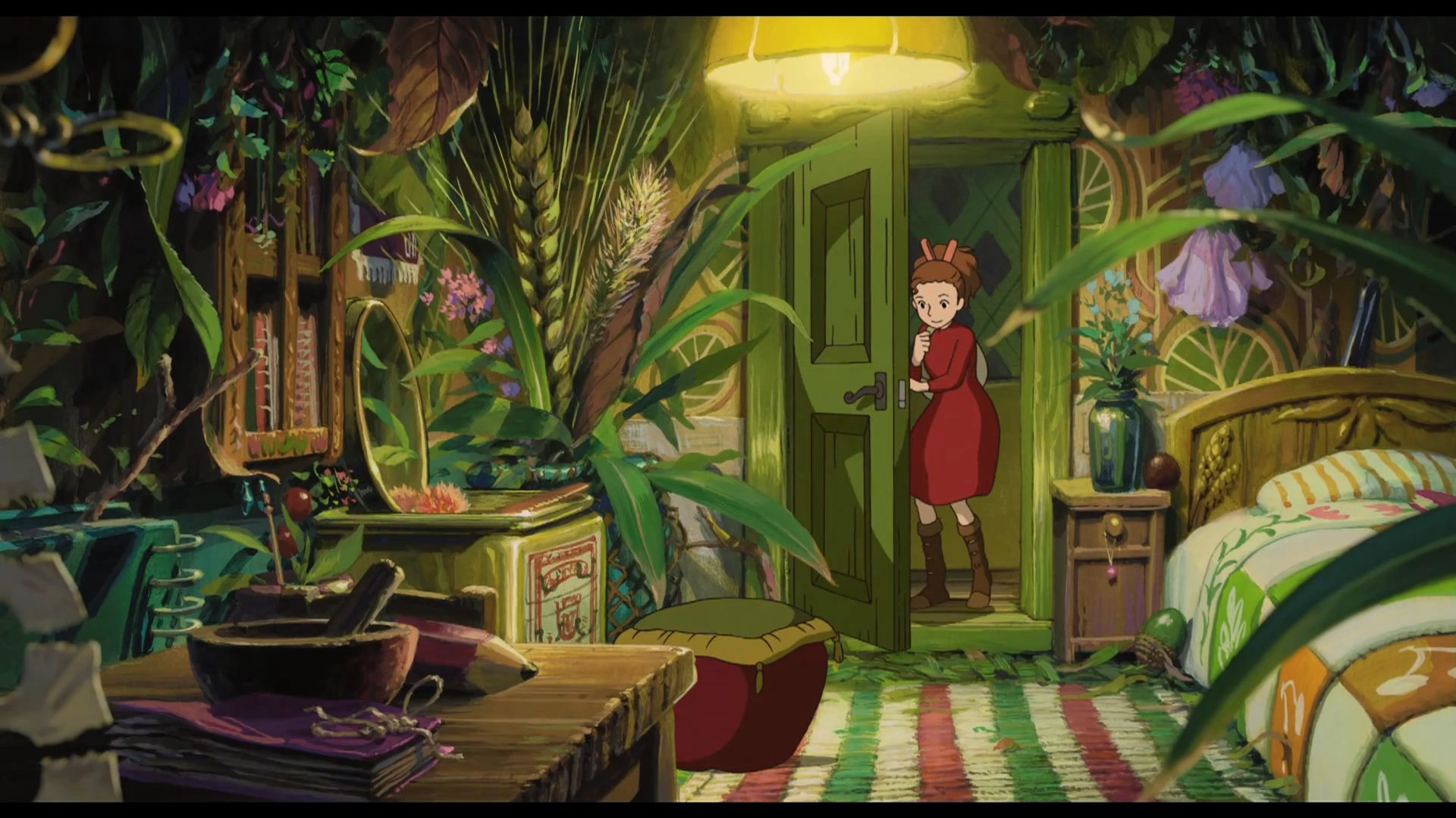 no Arrietty spikelets The Secret World of Arrietty doors wallpaper 1920x1080