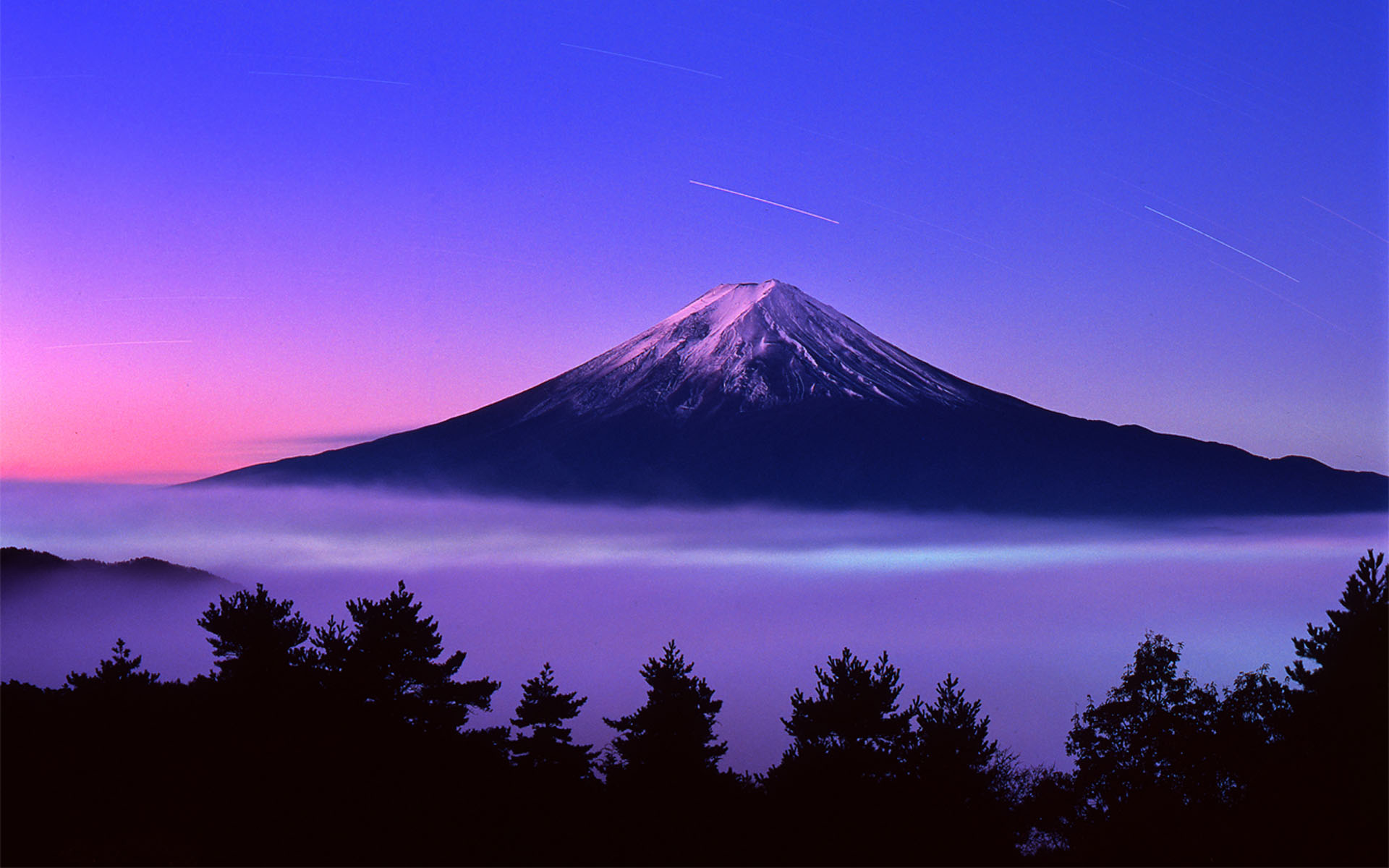 Mount Fuji Under Snow Wallpaper   Travel HD Wallpapers 1920x1200