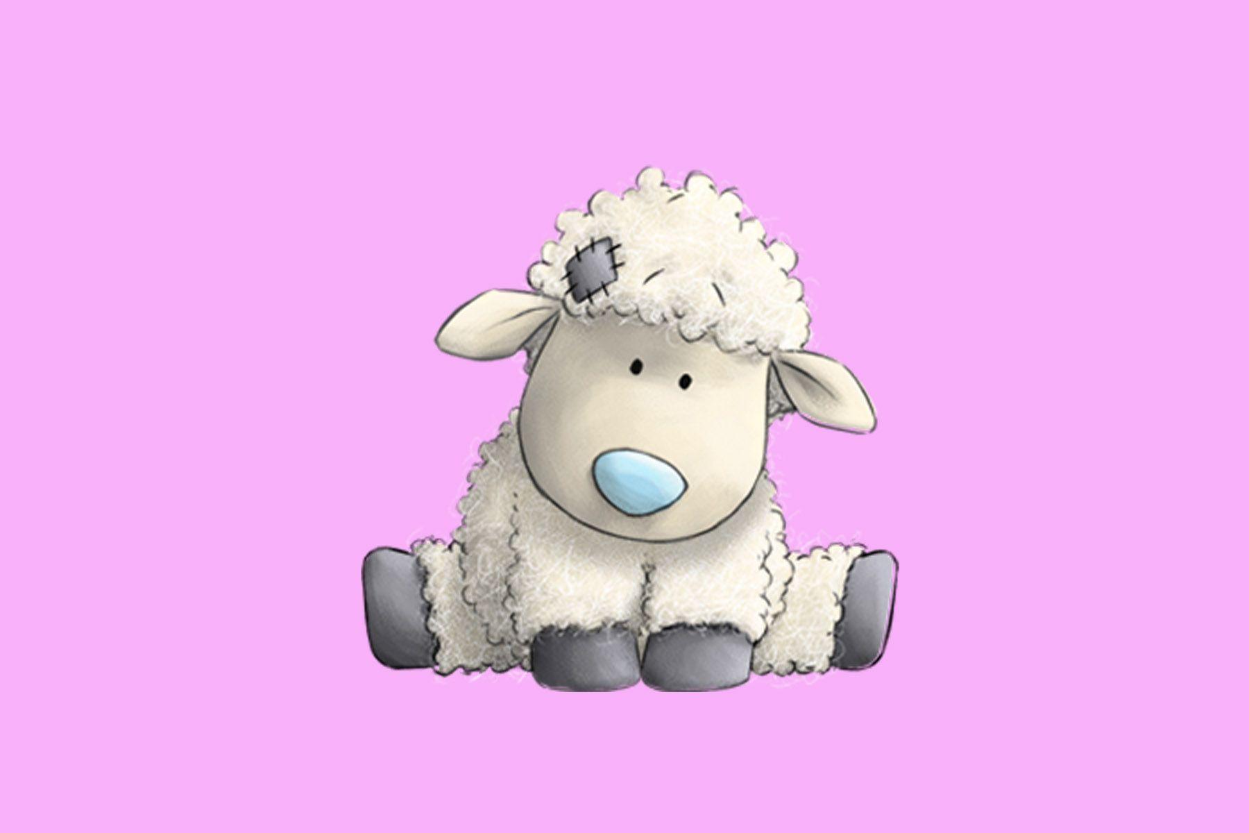 Признании любви, открытки овечками