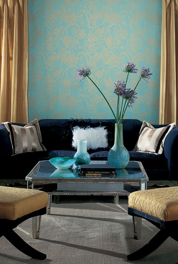 OLSON Crown Wallpaper Fabrics Toronto Vancouver Montreal 600x887