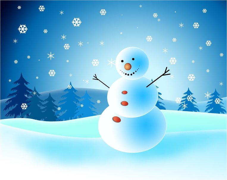 cute country snowman wallpaper - photo #12