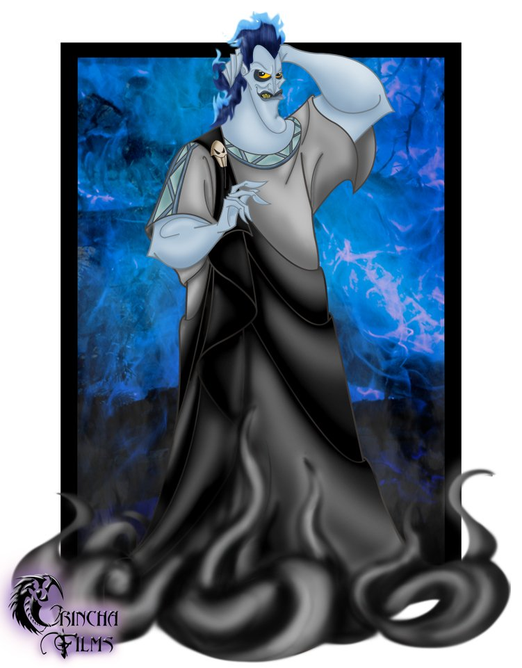 Disney Villains Hades by Grincha 751x961