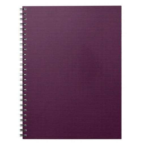 solid purple DARK WINE PURPLE BACKGROUNDS WALLPAPE Journals Zazzle 512x512