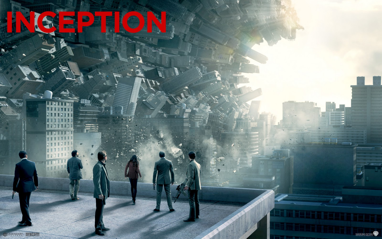 Inception Movie Poster HD Wallpapers Movie Wallpapers 1600x1000